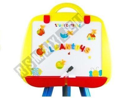 Große Magnettafel + Buchstaben und Ziffern Magnetbuchstab Farbe BLAU