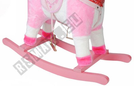 Interaktives Pferd an den Polen rosa K4593 !