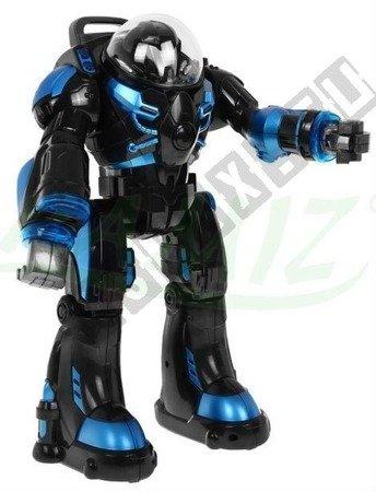 Interaktives Roboter CYBORG SPACEMAN RASTAR mit Fernbedingung RC Robot schwarz