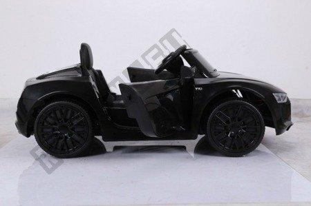 Kinderauto AUDI R8 SPYDER RS Lizenz Elektroauto Ledersitz EVA Neu 2017 schwarz lackiert