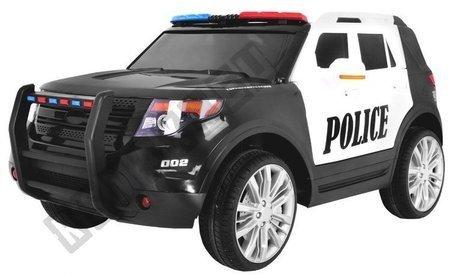 Kinderauto Elektroauto Kinderfahrzeug SUV Polizei Megaphon + Sirene