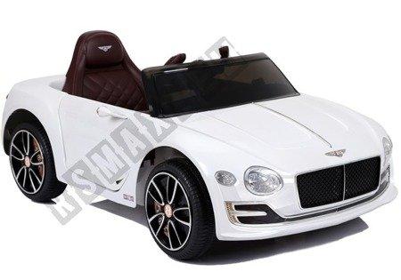 Kinderfahrzeug Bentley Weiß Ledersitz EVA-Reifen Auto