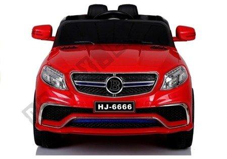 Kinderfahrzeug HJ6666 Rot Ledersitz weiche EVA-Reifen 2.4G Fahrzeug Auto