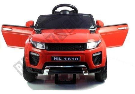 Kinderfahrzeug HL1618 Rot 2.4G Ledersitz FM USB SD Kinderfahrzeug Rot