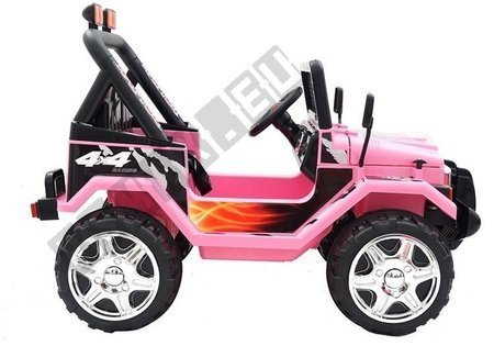Kinderfahrzeug Jeep Raptor S618 EVA Rosa Auto EVA-Reifen Frontscheinwerfer Auto