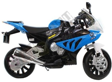 Kindermotorrad BMW S1000RR Lizenz Kinderelektroauto Kinderfahrzeug Dreirad Blau