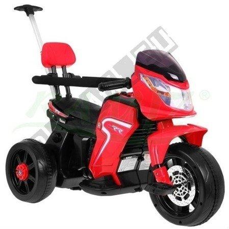 Kindermotorrad Elektromotorrad Dreirad Kinderfahrzeug Kinderfahrrad 2in1 Red
