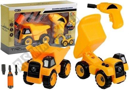 Kipper + Bohrmaschine Schraubenzieher Montage Set Fahrzeug