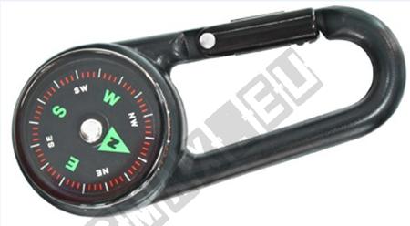 Kompass Schlüsselanhänger Schnalle Karabiner Kompass Mini Kompass