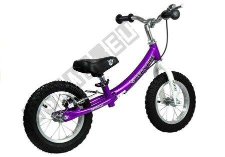 Laufrad CARLO Violett EVA-Reifen Laufrad Balance Bike Kinderlaufrad Rad Bremse