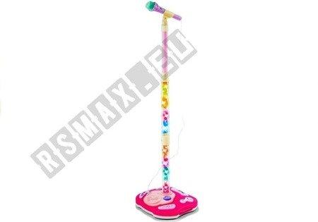 Mikrofon Stativ 130cm Soundeffekte Lautsprecher Spielzeug für Kinder 3+ Mikrofon