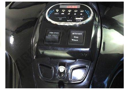 Motorrad HZB118 mit Akku Schwarz 45W LED Frontscheinwerfer MP3, USB, SD