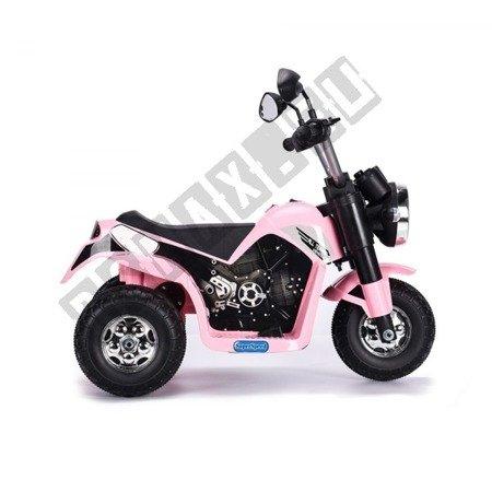 Motorrad auf der Batterie MiniBike rosa