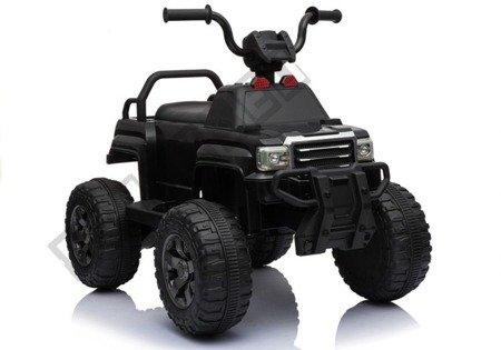 Quad BDM0911 Schwarz Ledersitz weiche EVA-Reifen LED Frontscheinwerfer Quad