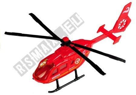 Rettungshubschrauber Rescue Rot Weiß Gelb Spielzeug