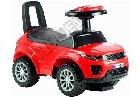 Rutschauto 613W Rot Fahrzeug für Kinder Sound- und Lichteffekten Baby