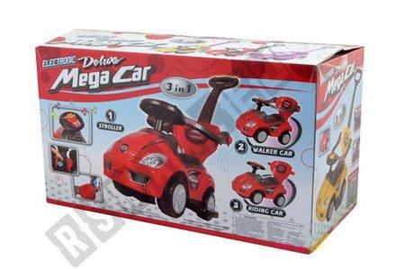 Rutschauto-Lauflerngerät-Rutscher Kinderauto Kinderfahrzeug 3in1 Z382 Blau
