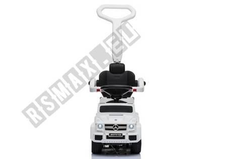 Rutschauto mit Schiebestange Mercedes 6x6 SX 1838 Weiß