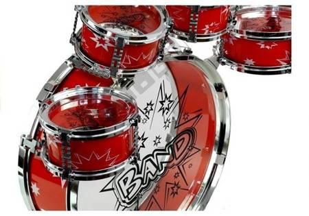 Schlagzeug Trommel Musikinstrument mit Stuhl 2 Farben Set für Kinder