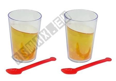 Spielzeug-Mixer-Gläser und Obst