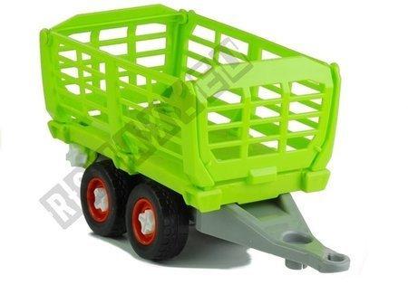Traktor mit Anhänger 43 cm Set Werkzeuge Landmaschine Spielzeug