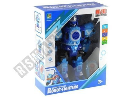 Zdalnie Sterowany Robot R/C Strzela Pociskami
