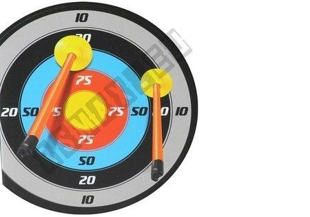 Zielscheibe Bogen 3 Pfeile Köcher Set Spielzeug für Kinder  6+ Set