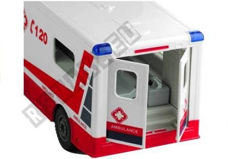 Ambulans Karetka Pogotowia Sterowana na Pilot 1:18
