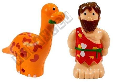 Autko Zdalnie Sterowane z Dinozaurem Ciemnozielone