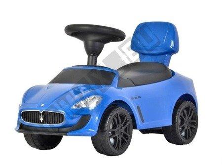 Autko jeździk chodzik pchacz Maserati niebieski