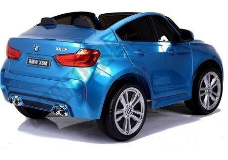 Auto Na Akumulator BMW X6M Niebieskie Lakierowane