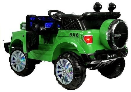 Auto Na Akumulator KP-6188 Zielony