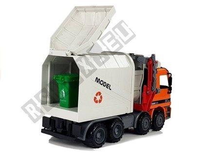 Auto Śmieciarka z Napędem Kosz na Śmieci