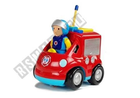 Auto Straż Pożarna z kierownicą Zdalnie Sterowana