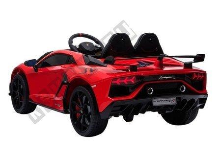 Auto na Akumulator Lamborghini Aventador Czerwony