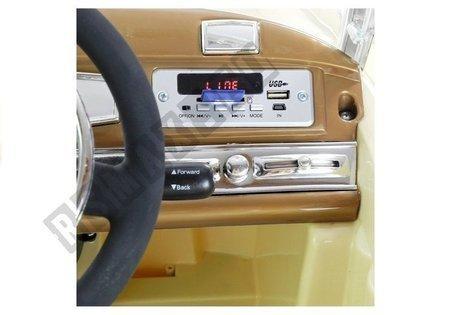 Auto na Akumulator Mercedes 300S Czarny Lakierowany