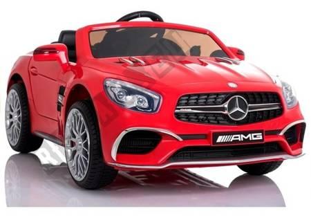Auto na Akumulator Mercedes SL65 MP3 Czerwony
