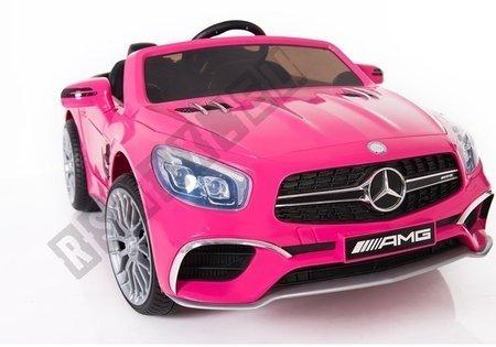 Auto na Akumulator Mercedes SL65 MP3 Różowy