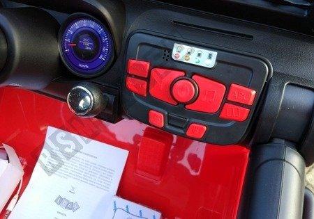 Auto na Akumulator S2388 Jeep Czerwony