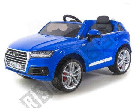Auto na akumulator Audi Q7 SUV niebieski lakier !