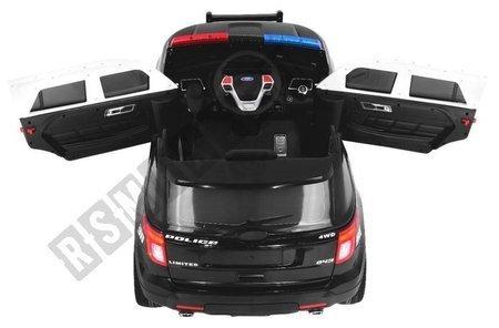 Auto na akumulator SUV POLICJA megafon + syreny
