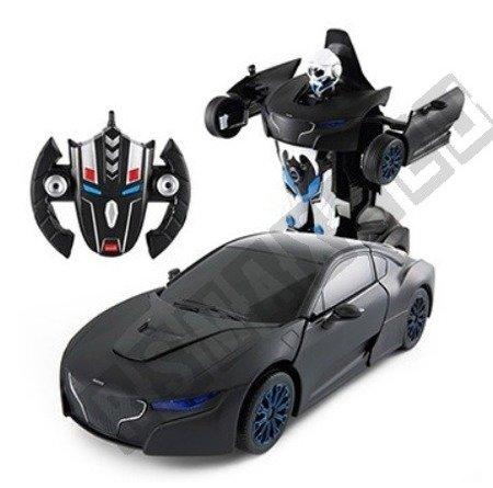 Auto zdalnie sterowane RS X MAN Transformer czarny