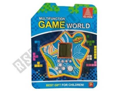Gra Elektroniczna Kieszonkowa Tetris Gwiazdka