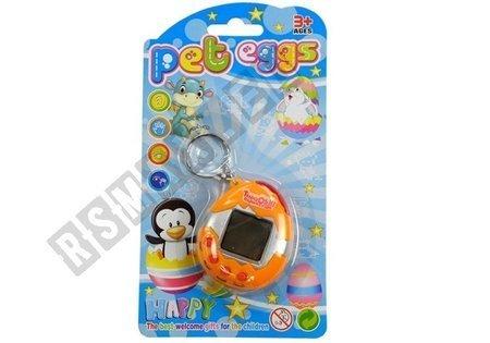 Gra Elektroniczna Tamagotchi Zwierzątko Jajeczko Żółty