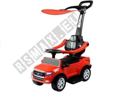 Jeździk Pchacz Ford Ranger z Daszkiem Czerwony