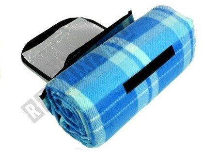 Koc 150x200cm niebieski 2795