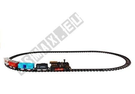 Kolejka Pociąg z Wagonami Zestaw na Baterie
