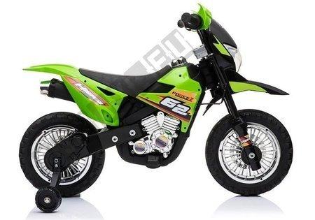 Motocykl na Akumulator Cross BDM0912 Zielony