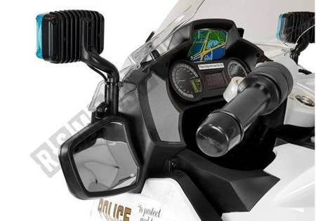Motor na Akumulator BMW R1200 Policja biały