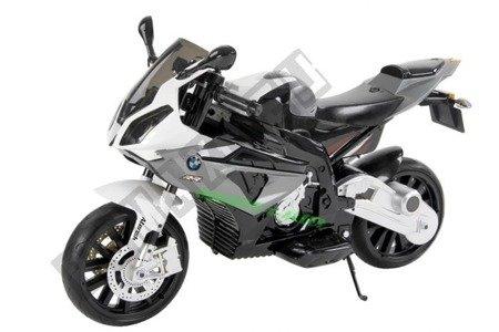 Motor na akumulator BMW S1000RR Licencja Szary